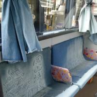 児島に行くなら見ておきたい2つの乗りもの~ジーンズバス&ジーンズタクシー